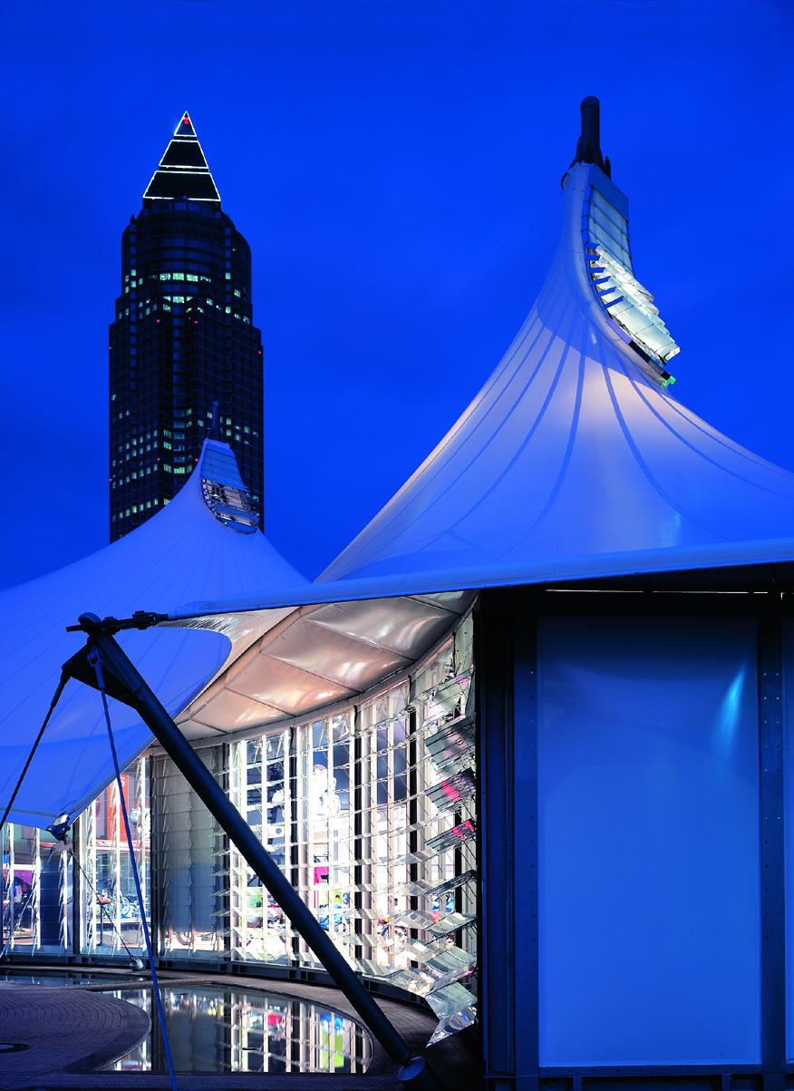 iaa exhibition pavilion for bmw glastec. Black Bedroom Furniture Sets. Home Design Ideas
