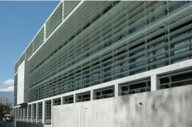 BOZEN 2 glass louvers sunshading