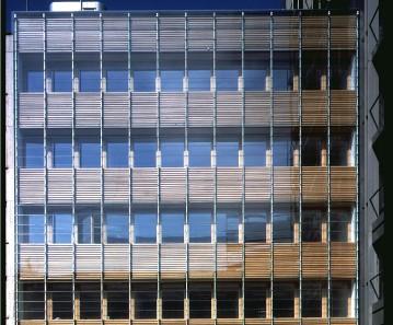 BV STUTTGART 5 glastec lamellen Klimafassade behnisch
