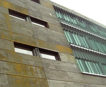 KORBACH 2 glastec louver facade sunshading