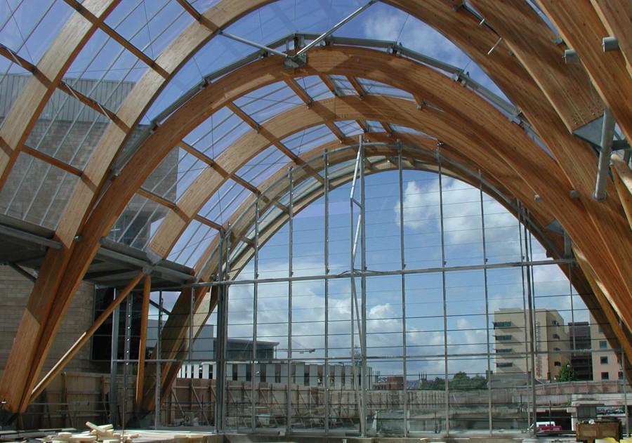 Glass Louver Facade : Millenium gallery glastec