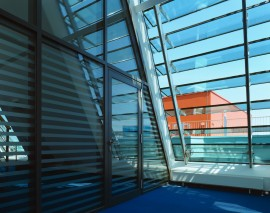 SILO HH 2 glasstec louvered roof